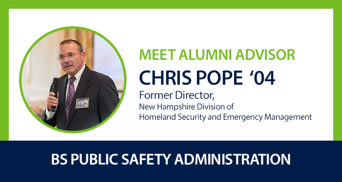 Alumni Advisor Chris Pope